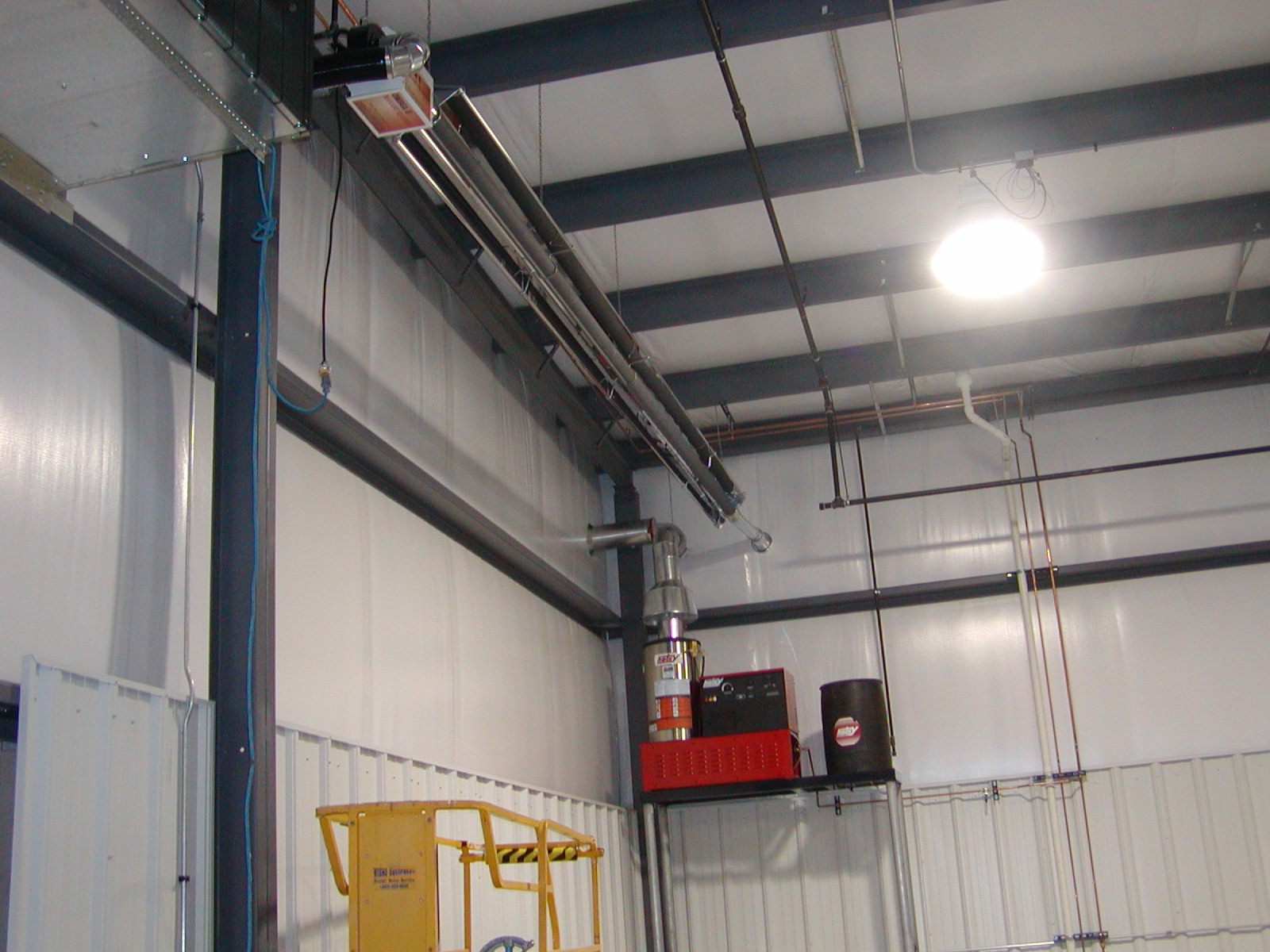 Warehouses Bishop Radiant Heating Systems
